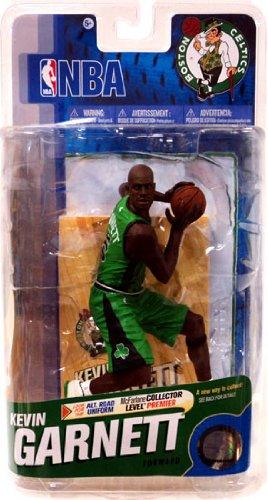 McFarlane Toys NBA Sports Picks Series 18 Action Figure Kevin Garnett Boston Celtics Green Uniform with Black Logos Bronze Collector Level Chase