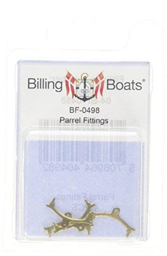 Billing Boats 2 mm Parrel Fittings for Model Building Kit
