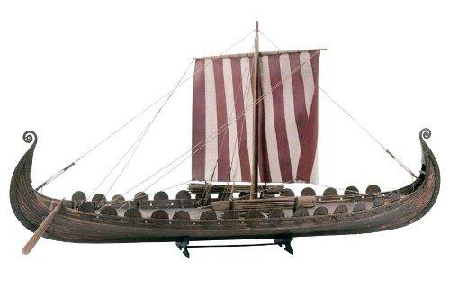 Billing Boats B720 125 Scale Oseberg Viking Ship Model Construction Kit