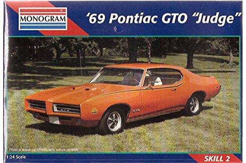 Monogram 1969 Pontiac GTO Judge 124 Scale Model Kit
