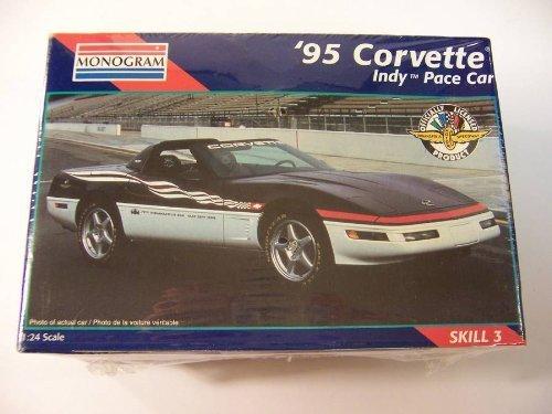 Monogram 95 Corvette Indy Pace Car 124 Scale Model Kit