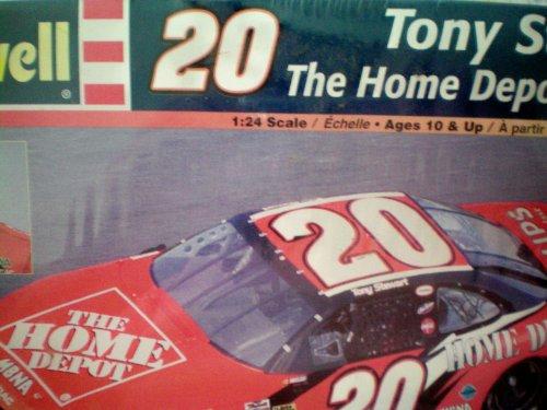 Tony Stewart 20 The Home Depot Grand Prix 124 Scale Model Kit NASCAR by Revell
