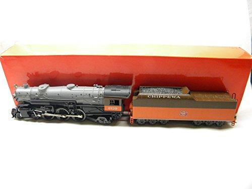 Rivarossi 5402 HO Milwaukee Railroad 4-6-2 Heavy Pacific Steam Locomotive Chippewa 6139