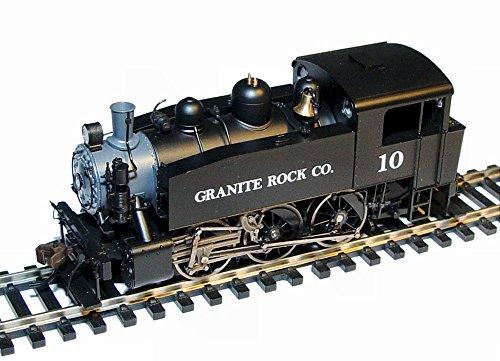 Rivarossi HO Scale - Granite Rock S-100 0-6-0 Steam Locomotive DCC Ready