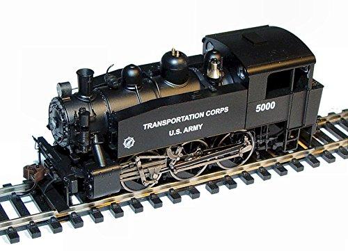 Rivarossi HO Scale - US Army S-100 0-6-0 Steam Locomotive DCC Ready