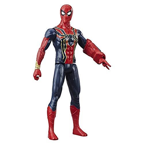 Avengers Marvel Titan Hero Series Iron Spider 12-Scale Super Hero Action Figure with Titan Hero Power Fx Port