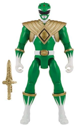 Power Rangers Super Megaforce - Mighty Morphin Green Ranger Action Hero 5-Inch