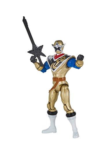 Power Rangers Super Ninja Steel Hero Action Figure Gold Ranger