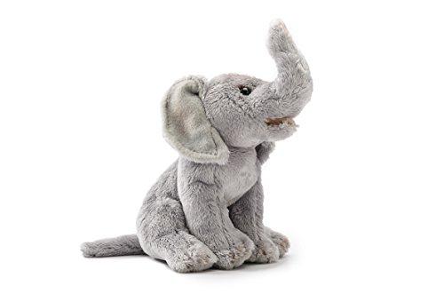 Demdaco Nat Jules Animalcraft Small Stuffed Beanbag Elephant