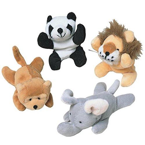 Mini Beanbag Animals pack of 12
