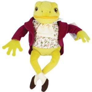 Beatrix Potter Jeremy Fisher Bean Toy 8 Plush Doll