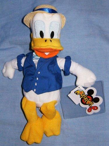 Disney Quartet Donald Duck Bean Bag Toy