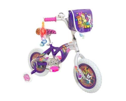 Dynacraft 8008-01TJ My Little Pony Girls Bike 12-Inch PurplePinkSilver