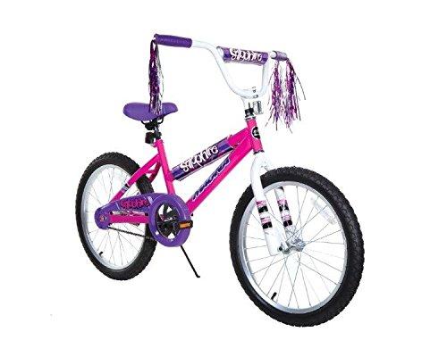 Dynacraft 8109-25ZTJ Girls Sapphire Magna Bike PinkPurpleBlackWhite 20