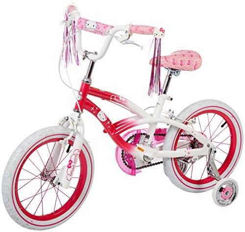 Hello Kitty Girls Bike PinkWhite 16-Inch