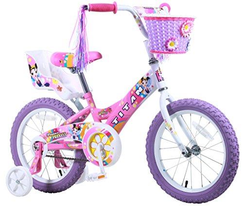 Titan Girls Flower Princess BMX Bike Pink 16-Inch
