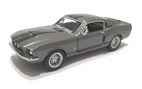 Scale 138 1967 Ford Shelby Mustang GT-500 diecast car Grey