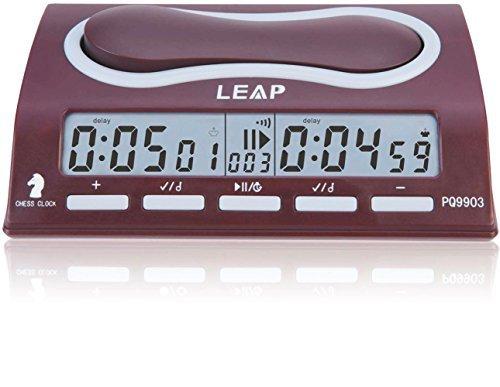 Leap Professional Digital Chess Clock - 29 set programmes by Leap