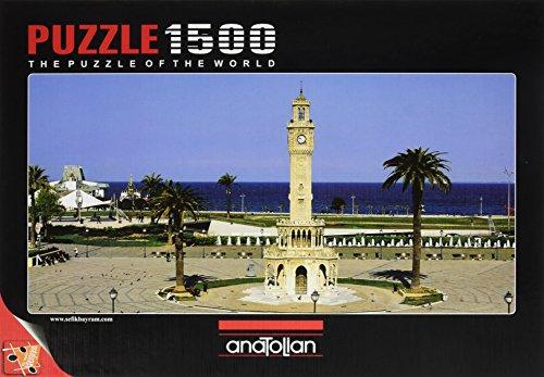 1500 Piece - Anatolian Puzzle -  Izmir Clock Tower Puzzle