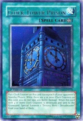 Yu-Gi-Oh Duelist Pack - Aster Phoenix - Clock Tower Prison Rare DP05-EN016