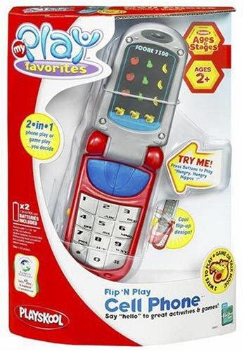 Hasbro Playskool Flip N Play Cell Phone - Red