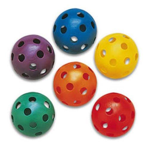 Plastic Softballs Prism Pack of 6