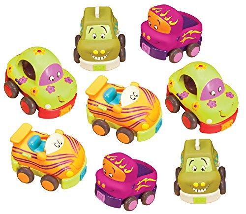 B Wheeee-ls Toy Vehicles Set of 8