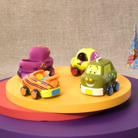 Battat - WHEEEE- IS - Toy Vehicle Set