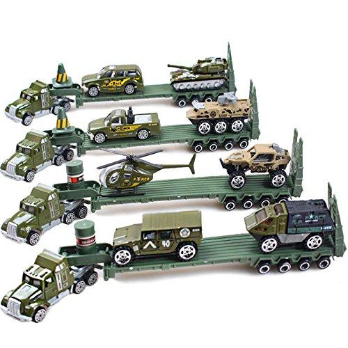 Kids Mini Alloy Transport Car Toys Vehicle Sets Educational Toys
