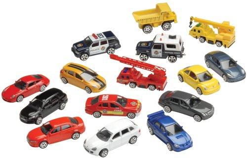 Mini-Motors Toy Vehicles Set