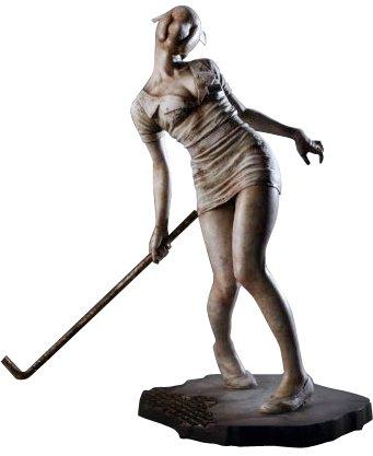 Mamegyorai Limited Silent Hill 2 - Bubble Head Nurse PVC Statue