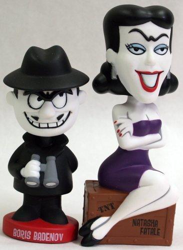 Boris and Natasha FUNKO bubble head
