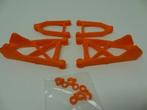 Rovan RC Nylon Front Suspension A-Arm Kit orange