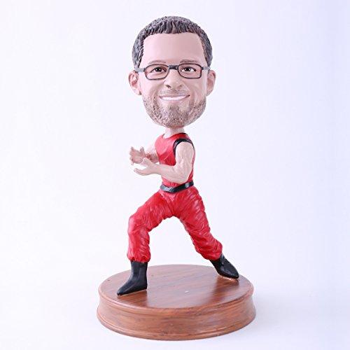 Custom Bobblehead Doll Kungfu Action Man