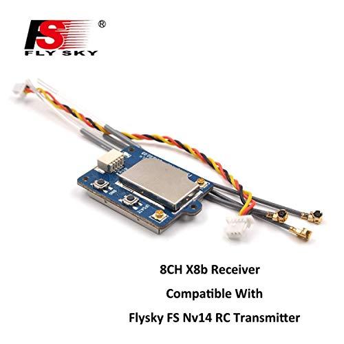 Xiangtat Flysky FS-X8B Receiver 8CH 24G i-BusPPM Receiver for FS-Nirvana FS-NV14 FS-i6 FS-i6s FS-i6x FS-i8 FS-i10 Transmitter RC Quadcopter