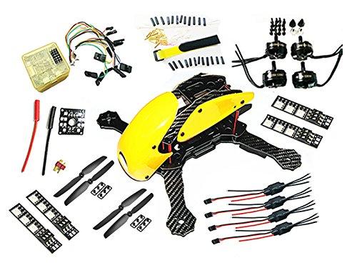 Robocat 270mm 3k Carbon Fiber Quadcopter Frame 12V LED Board CC3D 2204 6030