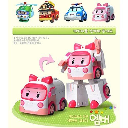Robocar Poli - Amber Transformers