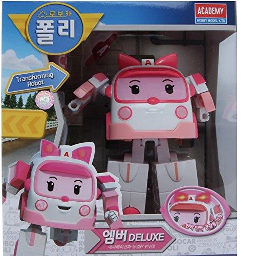 Robocar Poli Deluxe Transformer Toy - Amber