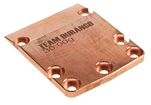Team Durango TD320007 DEX410 Skid Plate Weight Brass 30g