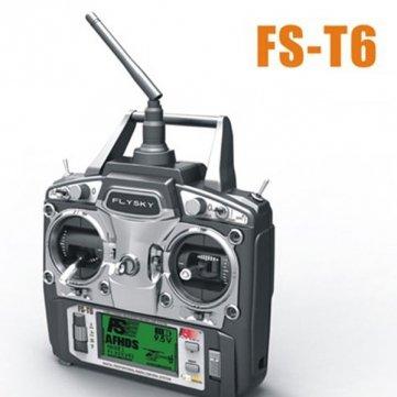 Flysky FS-T6 V2 24GHz 6CH Transmitter For V959 Syma X1 Mode 2