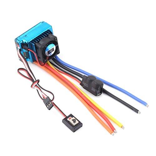 ECSEM 120A ESC Sensored Brushless Speed Controller For 18 110 CarTruck Crawler