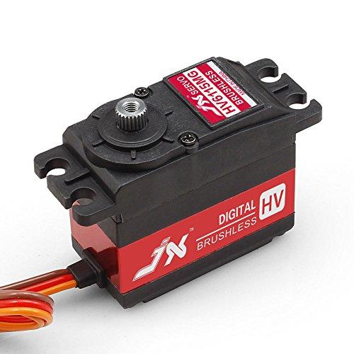 Superior Hobby JX BLS-HV6115MG 15KG High Precision Metal Gear High Voltage Brushless Digital Standard Servo