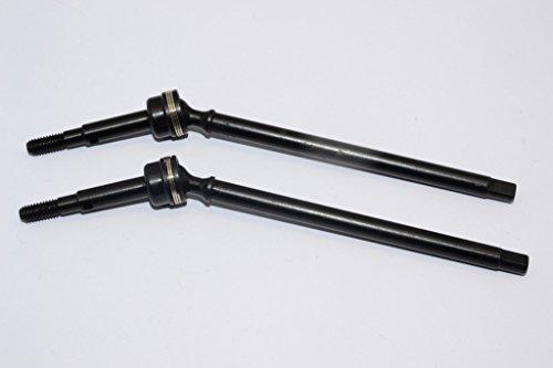 HPI Crawler King Upgrade Parts Steel 45 FrontRear CVD Drive Shaft - 1Pr Black