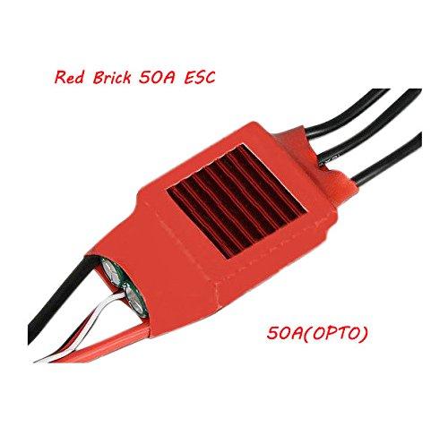 Pink Lizard Red Brick 50A ESC Brushless ESC OPTO NOBEC 50AOPTO