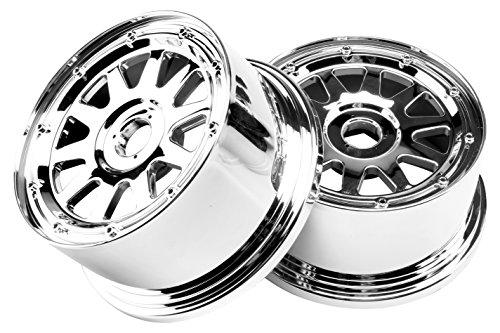 TR-10 Front Wheel Chrome 2 Baja 5 SC