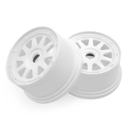 TR-10 Front Wheel White 2 Baja 5 SC