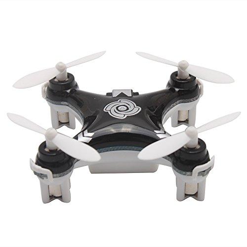 Cheerson CX-10A Mini Wifi FPV 24G 4CH 6 Axis LED RC Quadcopter Drone Under 30 Dollars - Black