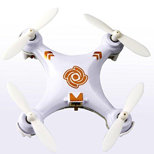 Womail Cheerson CX-10A Mini Headless Mode 24G 4CH 6 Axis RC Quadcopter White