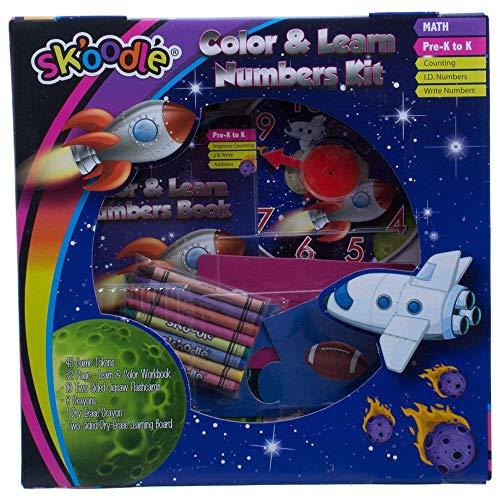 SKOODLE Skoodle Kids Activity Sets Color Learn Numbers Kit  Educational Art Set
