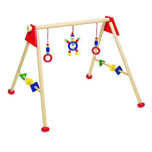 Heimess Baby Gym Not Assembled Multicoloured Dark